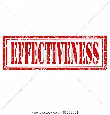 Effectiveness stamp