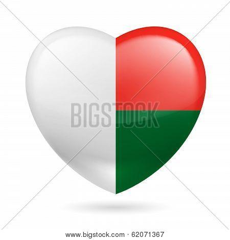 Heart icon of Madagascar