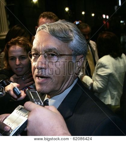 VIENNA - SEPT 11: Algerian oil minister Chakib Khelil arrives at the Organization of Petroleum Exporting Countries (OPEC) in Vienna, Austria, on Monday, September 10, 2007.