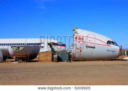 Flugzeuge boneyard