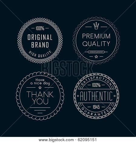 Outline labels