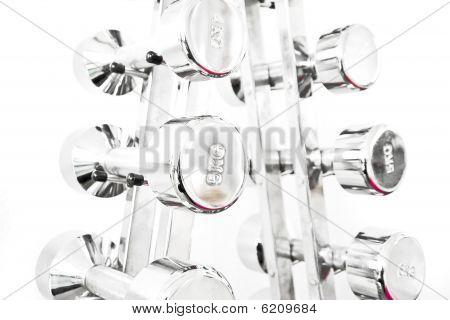 Silver Dumb-bells