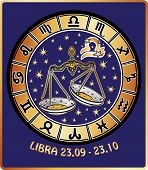foto of libra  - Libra zodiac sign - JPG