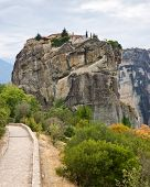 foto of trinity  - The Holy Trinity Monastery one of the monasteries of Meteora - JPG