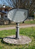 picture of sundial  - The Height Sundial  - JPG