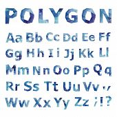 image of polygons  - Alphabet - JPG