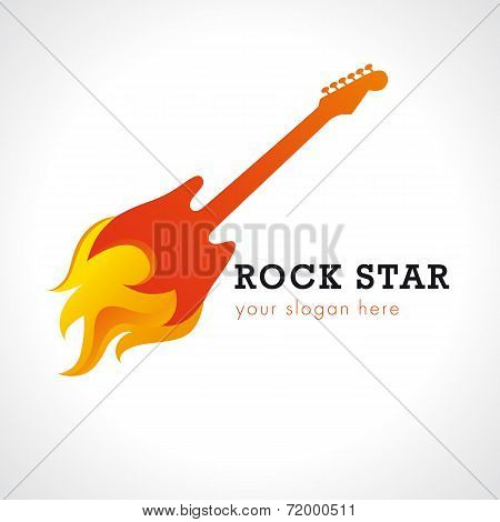 Rock star logo