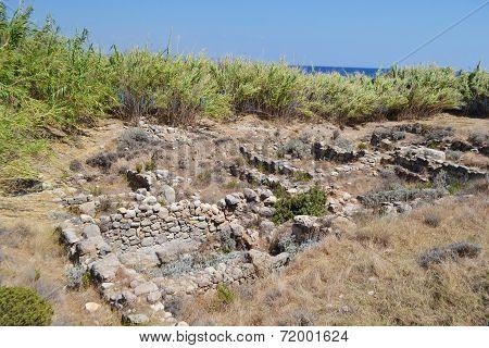 Old Ruins In Kefalos