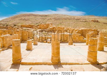 Remnants Of Basilica