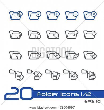 Folder Icons - 1 of 2 // Line Series