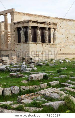 Erechtheum Is An Ancient Greek Temple