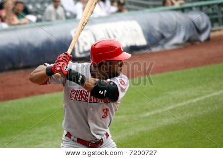 Willie Taveras of Cincinnati Reds