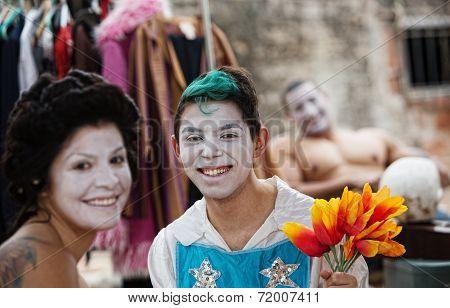 Happy Clown Friends