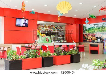 Spring Time Fast Food Restaurant