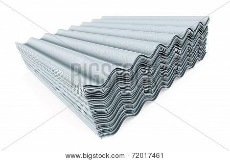 Stack Of Concrete Slate