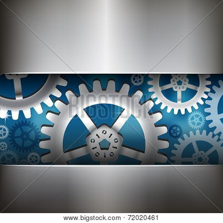 Gear Wheel Abstract Background