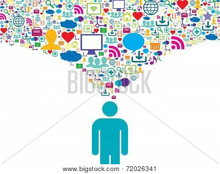 Strategic Communication In Social Network