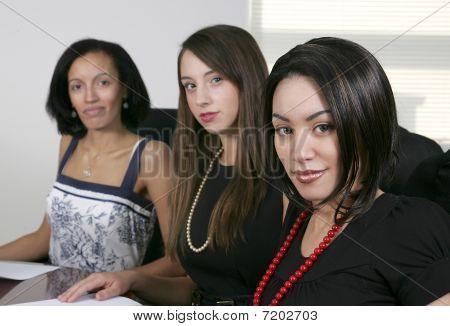 3 Young Businesswomen