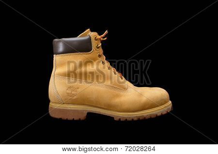 Authentic 8 Inch Timberland Yellow Work Boot