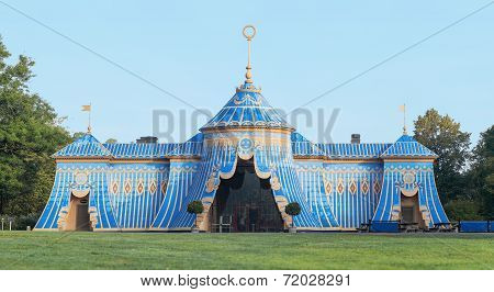 The Copper Tents In Haga, Panorama