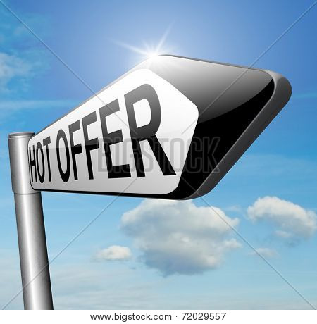 hot offer sales promotion addvertising or sign for online internet web shop. Webshop shopping sales  announcing bargain for low and best price with the best value for you money.