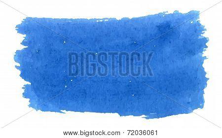 Watercolor Deep Blue Texture
