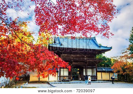 Jingo-ji Is A Buddhist Temple In Kyoto