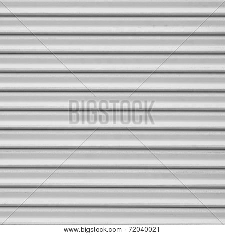 white Corrugated metal texture