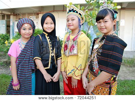 Multicultural Children of Malaysia