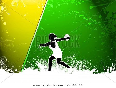 Discus Throw Background