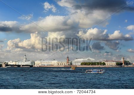 Spit Of Vasilievsky Island, Saint Petersburg, Russia