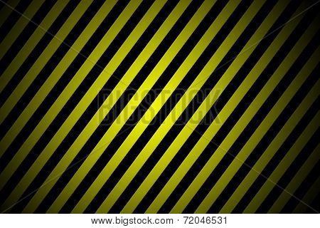 Black And Yellow Stripped Junction Lines