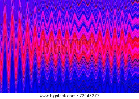 Diagram Background, Wave