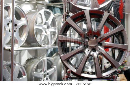 car aluminum wheel rim