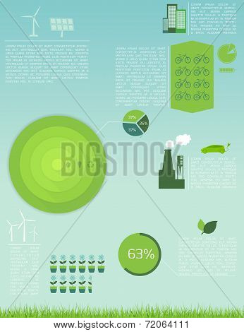 Green Ecology Infographic