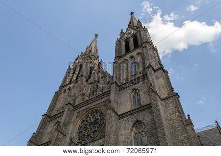 St. Ludmila Basilica.