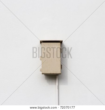 Control Box On Wall Home