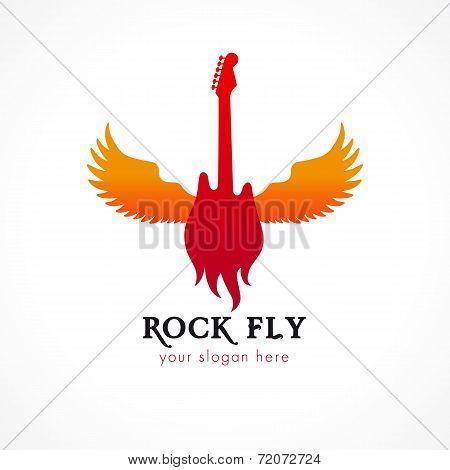 Rock fly logo