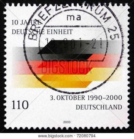 Postage Stamp Germany 2000 German Flag