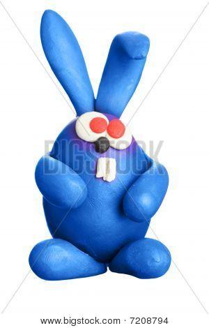 Plasticine Easter Rabbit