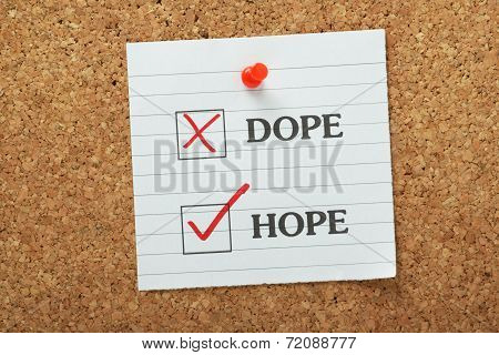 Hope not Dope