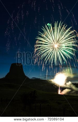 Fireworks In Wyoming