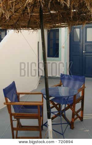 Private Yard (Santorini, Greece)