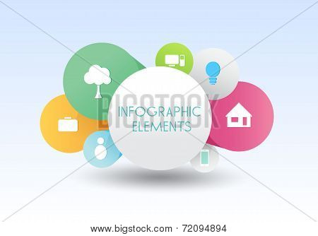 following infographics banner vector business concepts