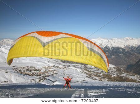 Paragliding Sail
