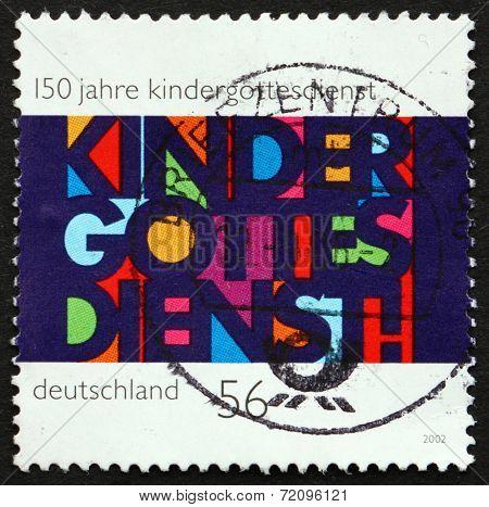Postage Stamp Germany 2002 Children's Church