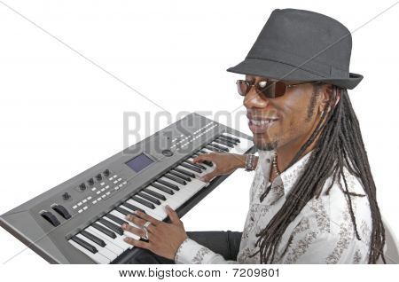 Playing the keyboards