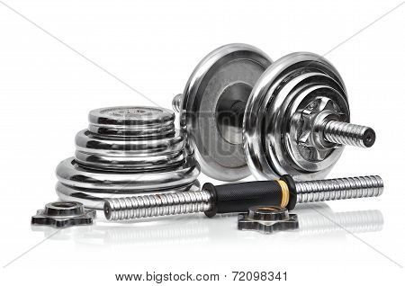 Metal Collapsible Dumbbell