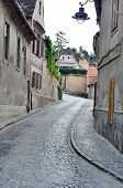 stock photo of sibiu  - sibiu city romania random street general view - JPG