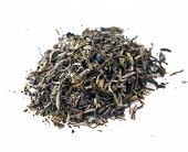 picture of darjeeling  - Darjeeling first flush black Indian tea isolated - JPG